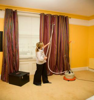 Curtain Steaming and Dry Cleaning Works